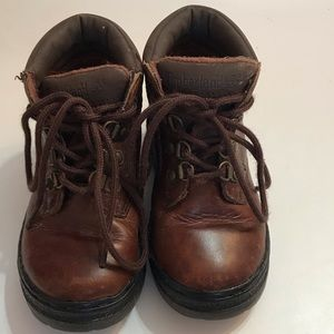 Timberland Boots Leather Boys Size 9m